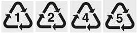 safe plastics by number