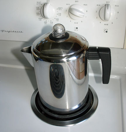 no plastic parts coffee maker