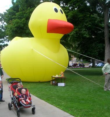 Rubber Duck = Danger of Toxic Plastics